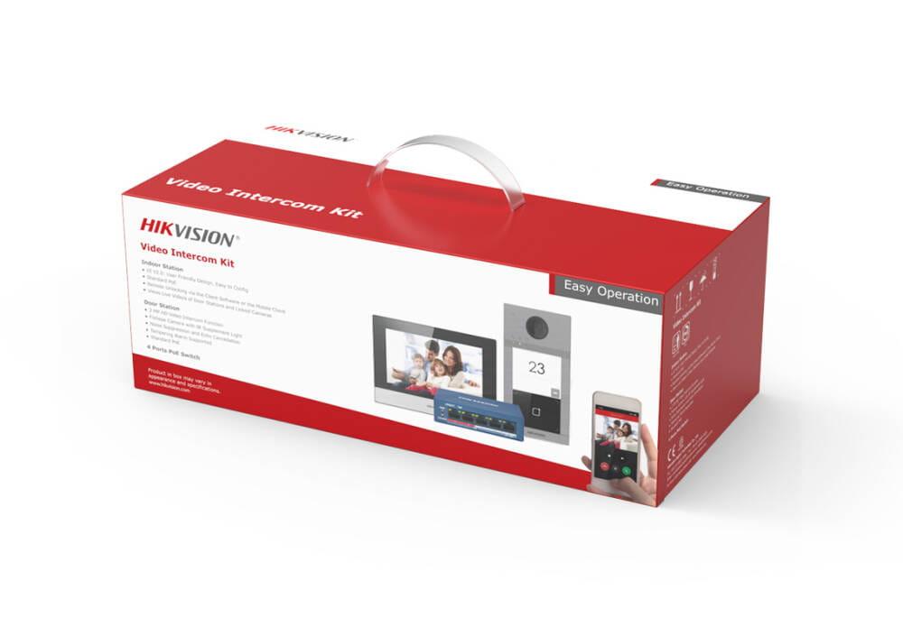 Opakowanie wideodomofonu HikVision DS-KIS604-S